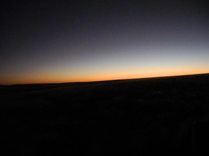 Stimmungsvolles Licht nach Sonnenuntergang in der Palmwagkonzession Namibia