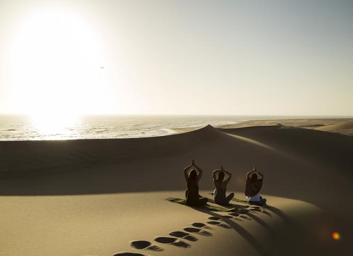 Yoga am Strand - Swakopmund