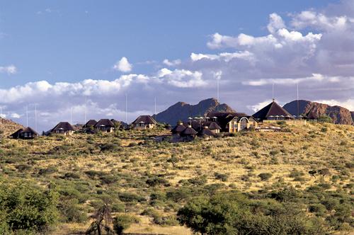 Yoga Reise Namibia - Goche Ganas Lodge