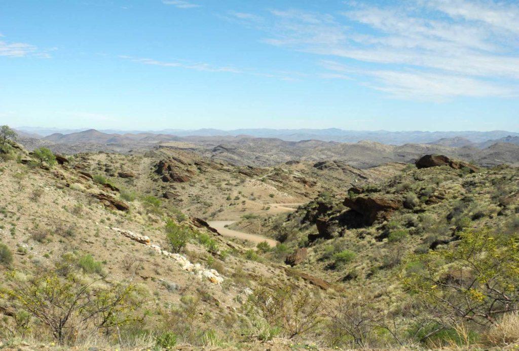 Zentrales Namibia: Wilde Berge im Khomas Hochland in Namibia