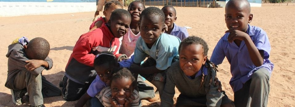 Kids in Damarland Namibia