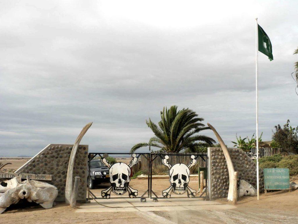 Ugab Tor zum Skeleton Coast Park