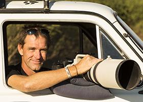Leiter der Fotosafari Dr. Bernd Wasiolka