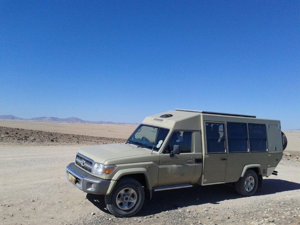 """Beispiel für das Fahrzeug auf der Tour """"Klassisches Namibia"""""""