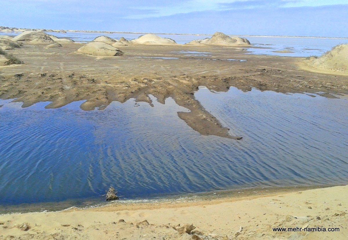 RAMSAR Schutzgebiet Salzwerke von Walvis Bay
