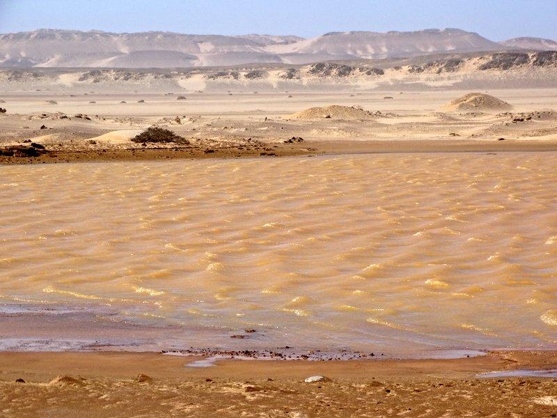 Wasser mitten in der Namib, Namibia