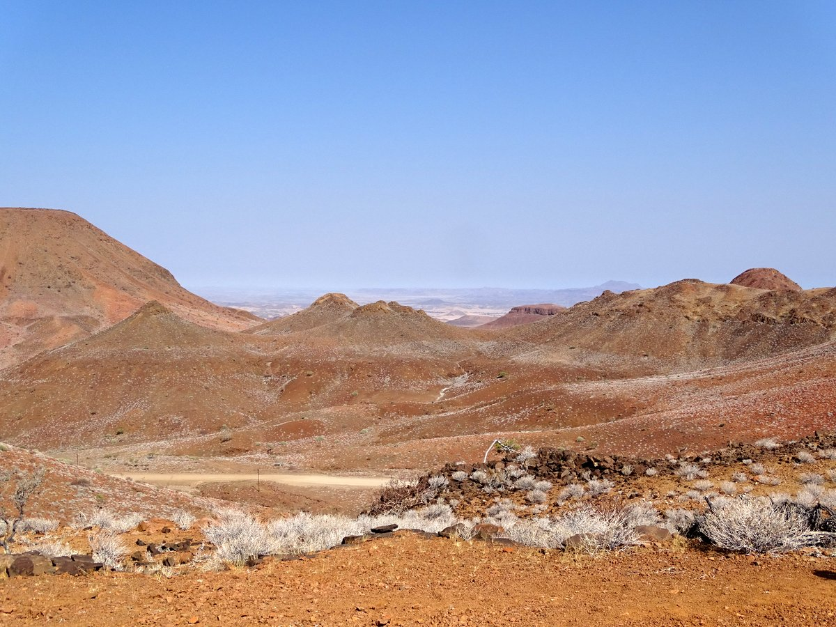 Damaraland Etendeka Berge trocken