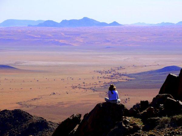 Beeindruckende Ausblicke über die Namib