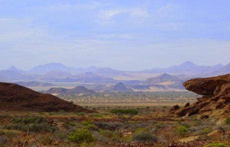 Blick auf das Huab Tal