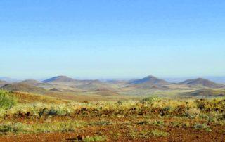 Landschaft der Palmwag Konzession