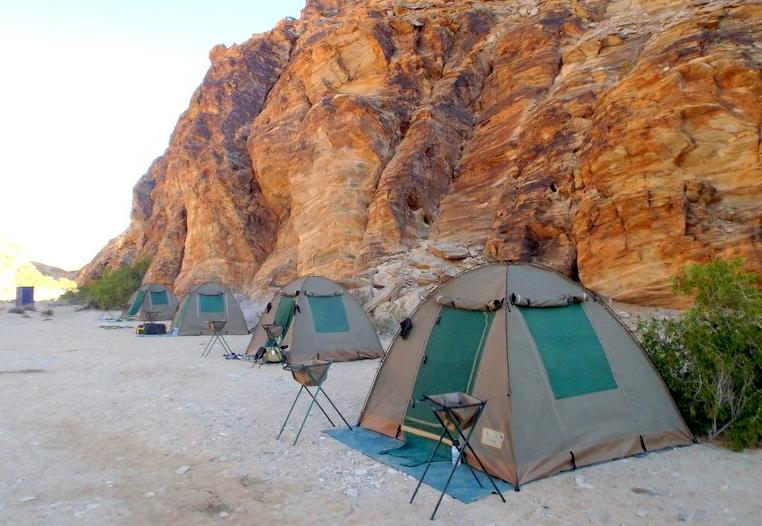 Komfort Camping in Namibia