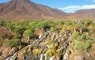 Epupa Fälle am Kunene Namibia