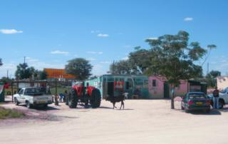 Szene aus dem Ovamboland